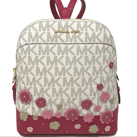 ceec7be59eac Michael Kors Bags | Emmy Small Floral Mk Backpack | Poshmark